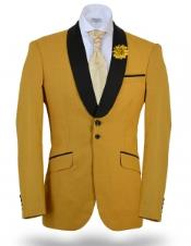 yellow  blazer men