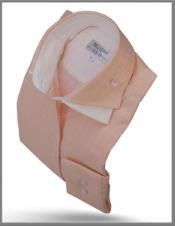 Double Collar Shirt Peach