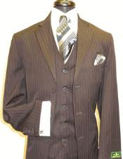 SKU#AC-741 Brown Stripe ~