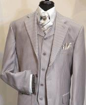 Mens Suit Three Button