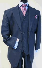 Mens Three Button Vested