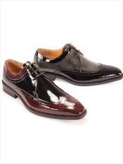 AC-805 Dress Shoes Black/BurgundyBlack/Grey