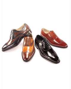 SKU#AC-807 Dress Shoes NavyChocolate