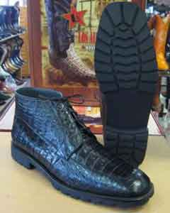 All Crocodile Caiman Black