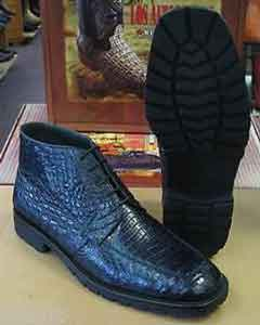 All Crocodile Caiman Navy