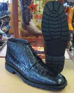 All Crocodile Caiman Black