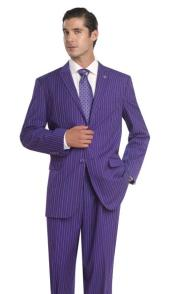Pinstripes Suit Comes With