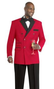 Double breasted Tuxedo Dinner Jacket Blazer Suit