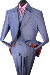 Button Collar Fashion Suit