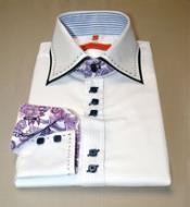 Valenti Sports Shirt-White &