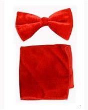 Bowtie with Hanky Red