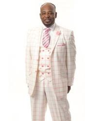 2 Button Suits Pink