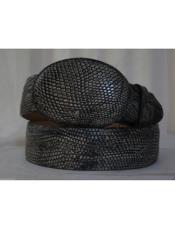 Rustic Black Lizard Teju