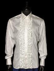 White  Tuxedo Shirt