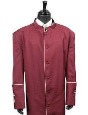 Clergy Long Robe Burgundy