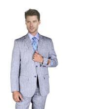 Medium Grey with blue