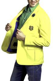 Sport Slim Fit Yellow