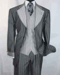 4 button Vested Single