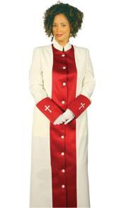 Clergywear Cream/Red
