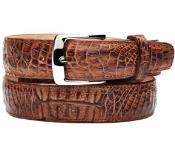 belt leather crocodile