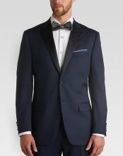 SKU#SS-9411 Navy Slim Fit Tuxedo