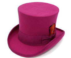 Fuschia 100percent Wool Felt