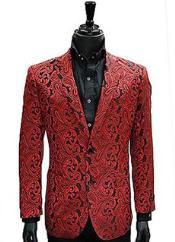 red blazer men