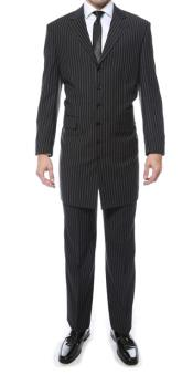 Black Pinstripe ZOOT Suit