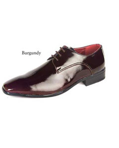 SKU#SD22 Mens Dress Burgundy Shoes $99