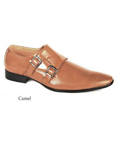 SKU#SD29 Mens Dress Camel Shoes $99