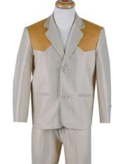 Button Boys Western Suit