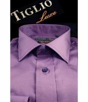 Mens Satin Lavender Cotton