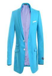 Linen Modern Jacket Double
