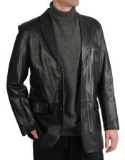 Black Lamb Leather 3