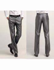 Sharkskin Flashy Dress Slack ~ Dress Pants Available In BlackIvoryWhiteNavy BlueSilverCharcoal Grey