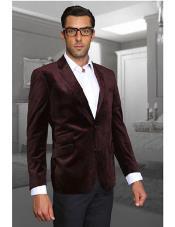 Burgundy Discounted Blazer Sportcoat
