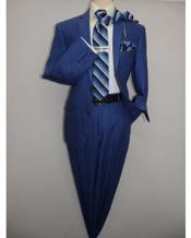 ~ Bright Blue ~ cobalt blue ~ Teal New blue Linen fabric Summer mens Suit 2 Button
