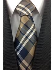 Plaid Fashion Design Tie