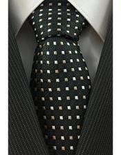Black & Beige Necktie