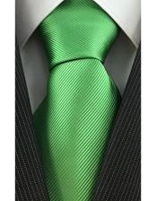 Fashion Necktie Green Lime