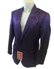 Nardoni Brand Mens Purple