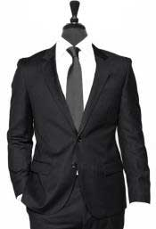 Alberto Nardoni Black Vested 3 Pieces Summer Linen Wedding/Groom/Groomsmen Suit Jacket & Pants & Vest Suit 2