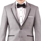 Online Instead of Rental Slim Fit Notch Lapel Groom & Groomsmen Wedding Suits & Tuxedo Online +