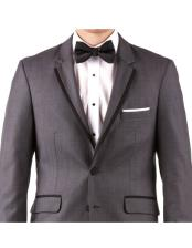 Online Instead of Rental Slim Fit  Groom & Groomsmen Wedding