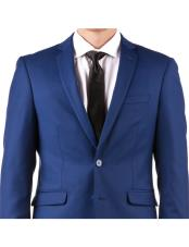Mens Slim Fit Suit - Fitted Suit - Skinny Suit Mens Bright