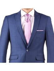 Mens Slim Fit Suit - Fitted Suit - Skinny Suit Mens Mystic