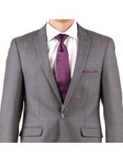 Buy Online Instead of Rental Slim Fit Peak Lapel Groom & Groomsmen Wedding Suits & Tuxedo Online