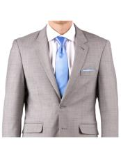 Online Instead of Rental Slim Fit Notch Lapel Groom & Groomsmen