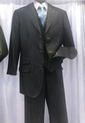 3 Button Vested Suits