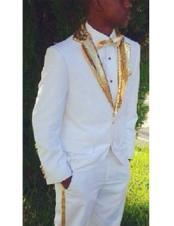 Single Breasted tuxedo Golden